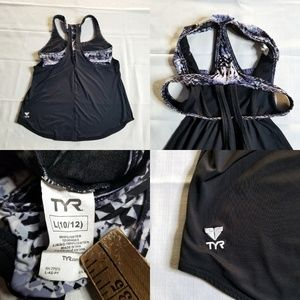‼SOLD‼ Women's TYR Shea 2 n 1 Tank Top Sports Bra